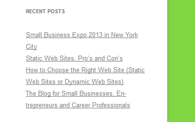Recent Small Business Blog Articles